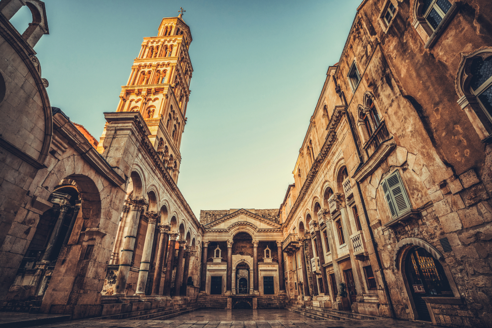 Split, Chorvátsko. Foto: Shutterstock