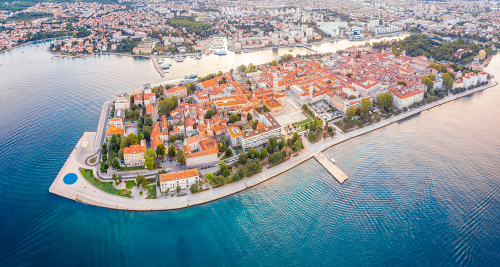 Zadar, Chorvátsko. Foto: Shutterstock