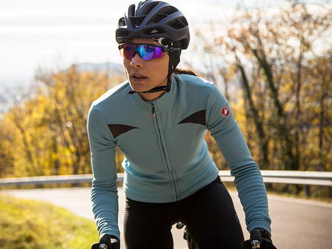 Cyklistický dres do chladného počasia