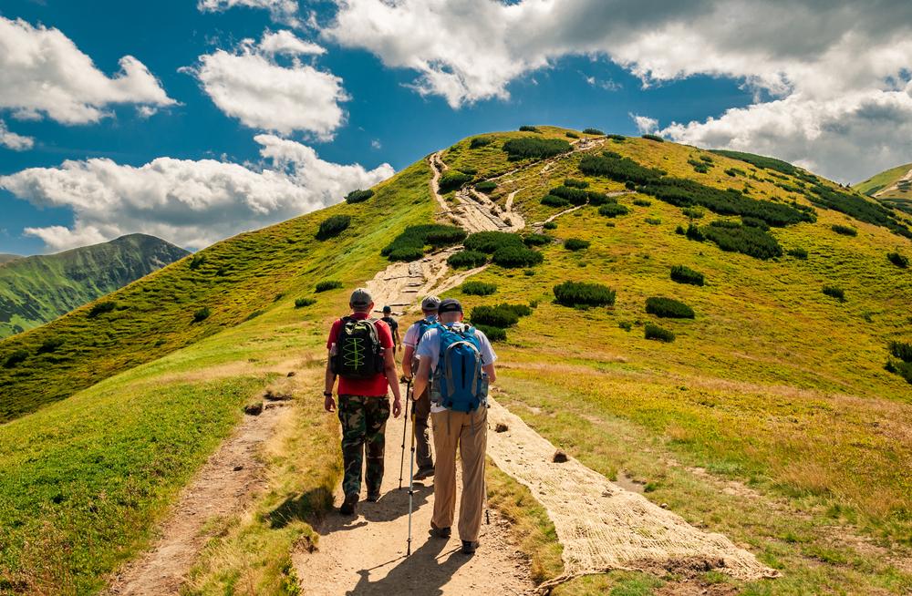 Cesta SNP Slovensko Nízke Tatry. Foto: Shutterstock