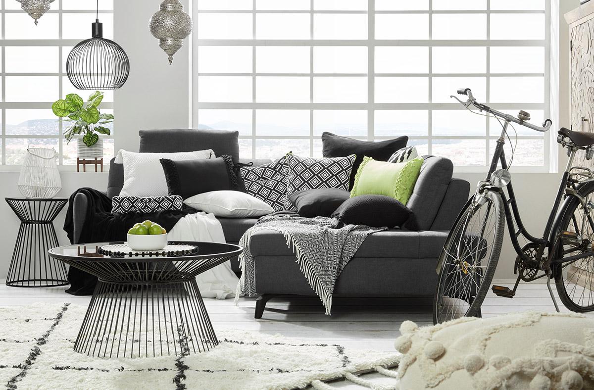 Lime-affair - čierno-biela v interiéri