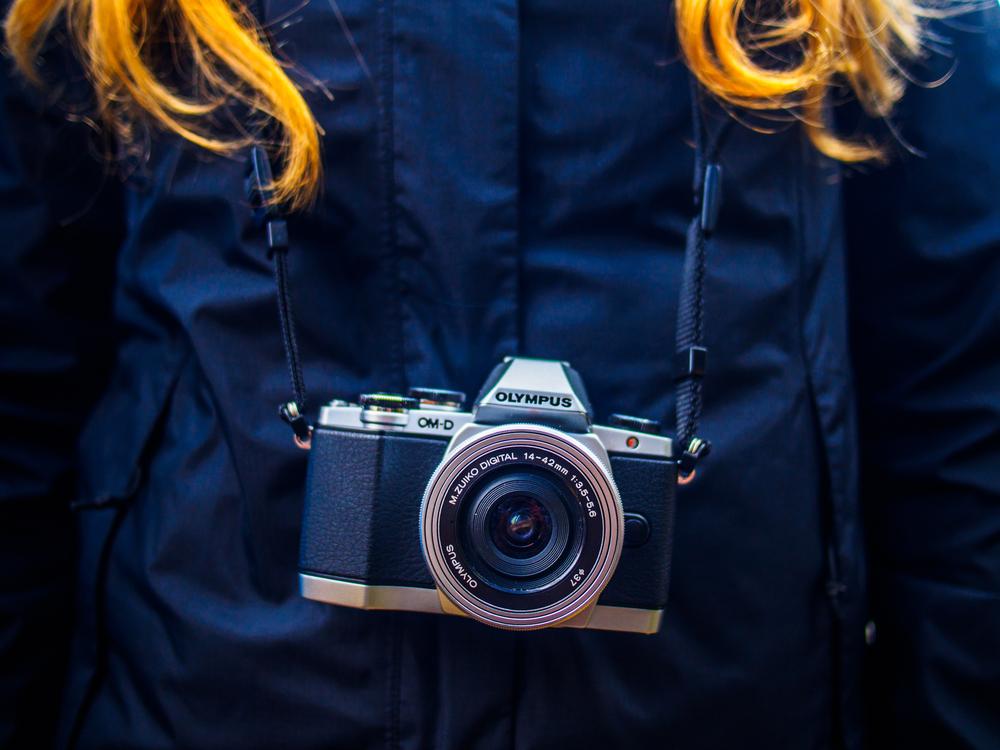Fotoaparát Olympus. Foto: Shutterstock