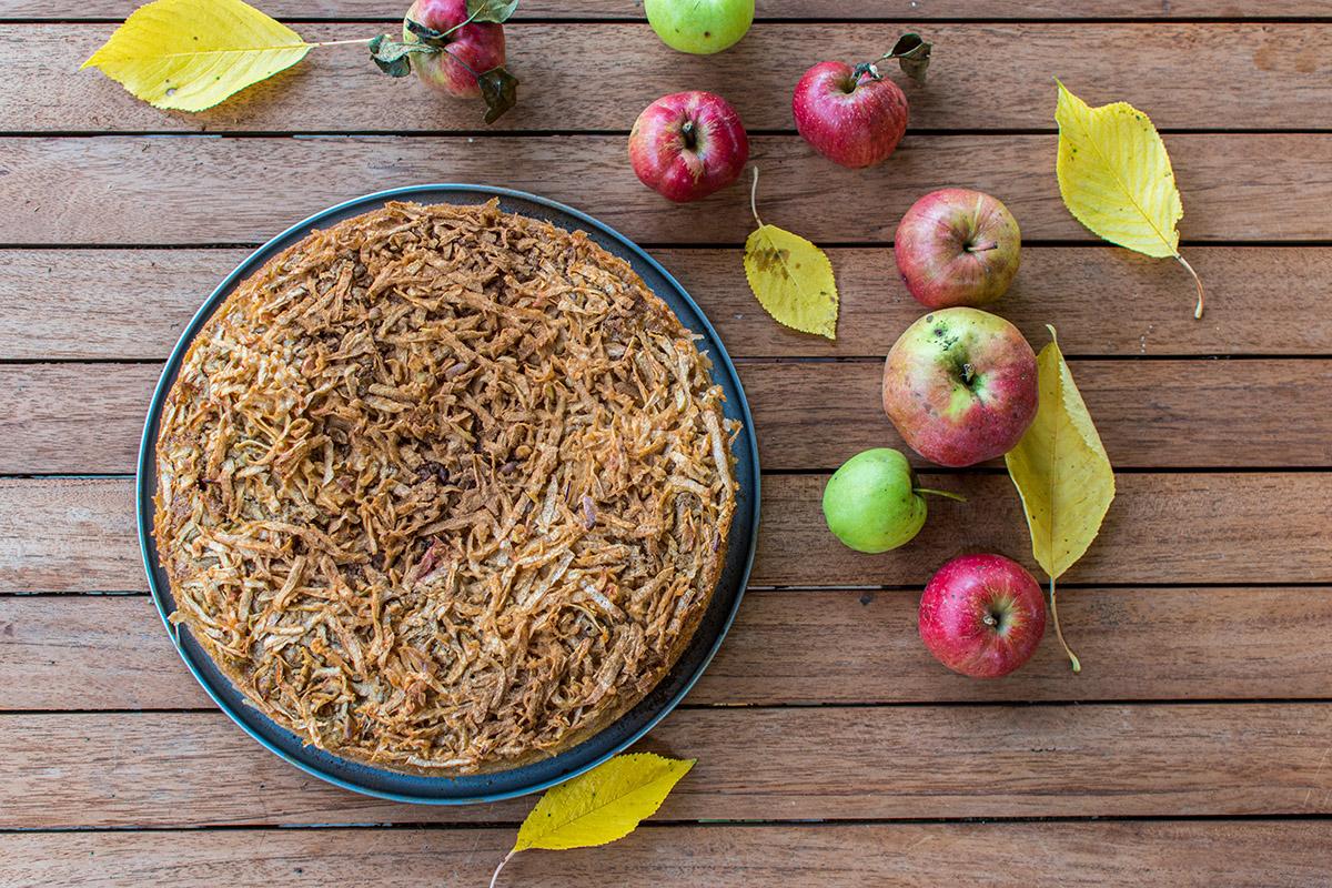 Jablkový koláč. Foto: Shutterstock