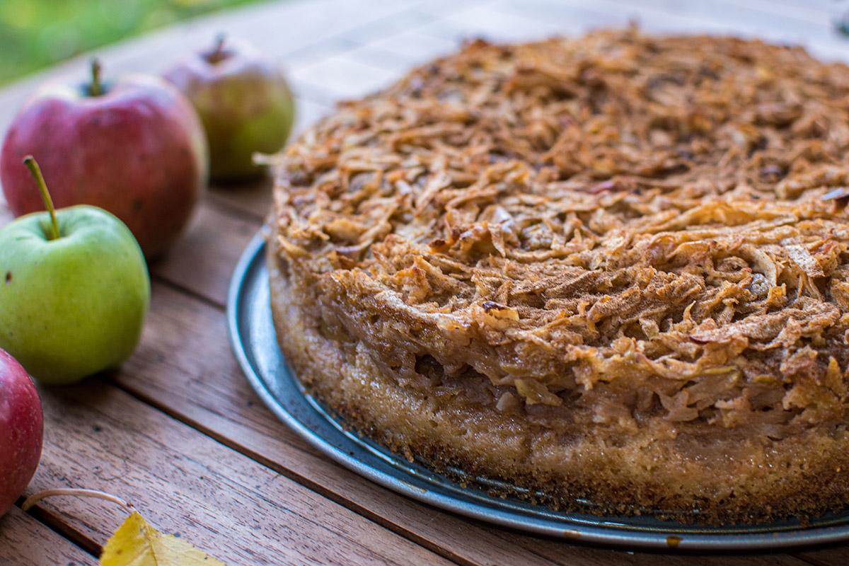 Špaldový jablkový koláč. Foto: Shutterstock