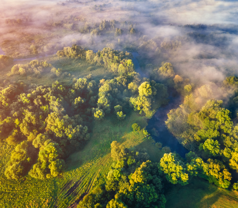 Krajina zelená. Foto: Shutterstock
