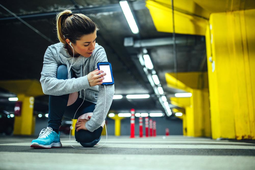 Zaznamenajte, ako veľmi ste sa počas tréningu nadreli. Foto: Shutterstock