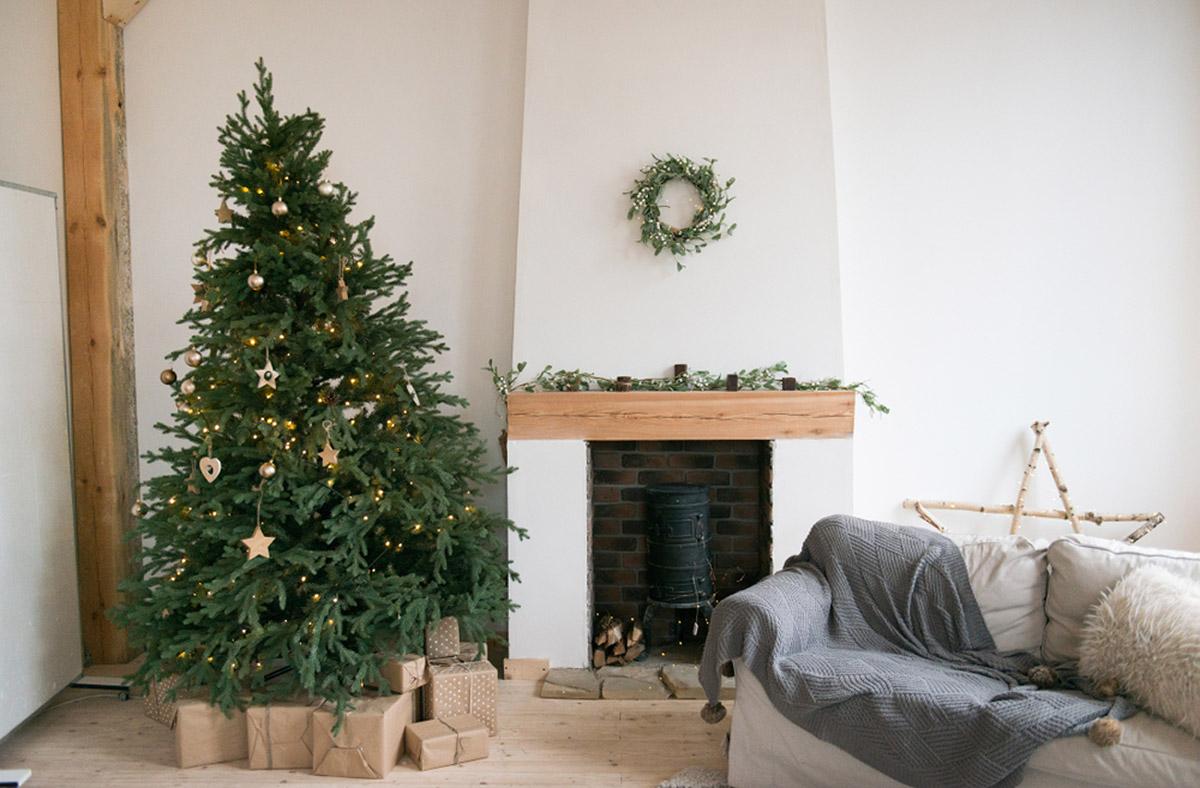 Vianoce v sivej farbe