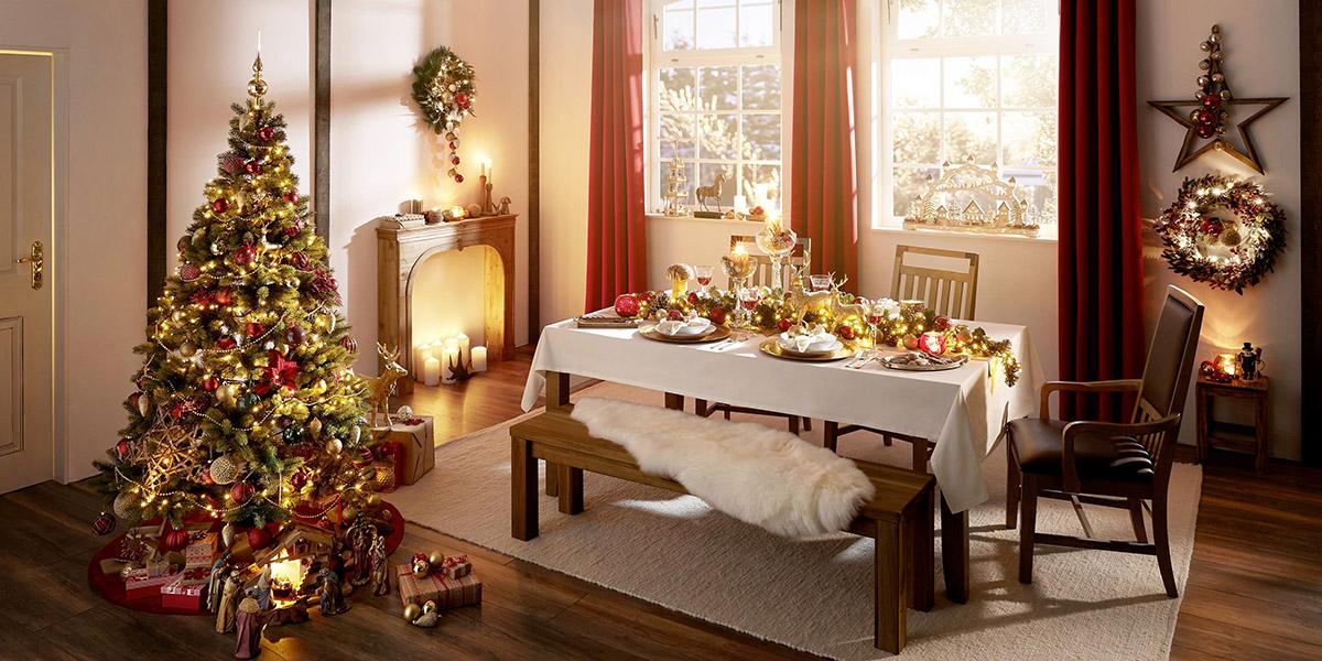 """Téma """"Rustic Christmas"""" totiž navodí to pravé """"teplo domova""""."""