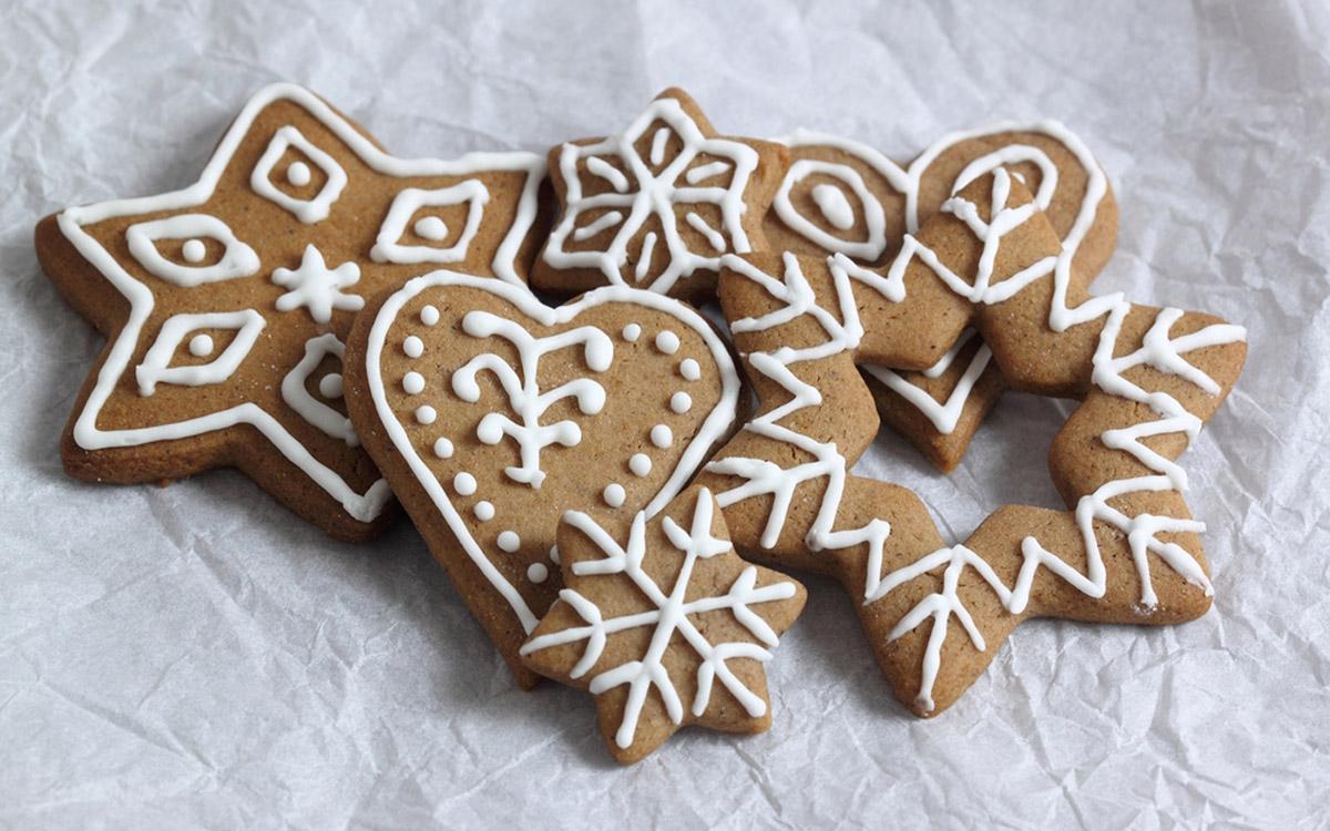Tradičné vianočné medovníky