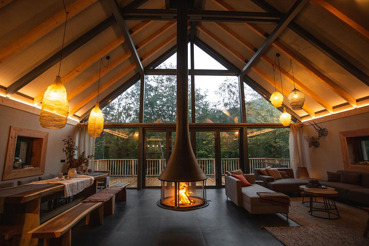 Samostatný chalet Salamandra resort