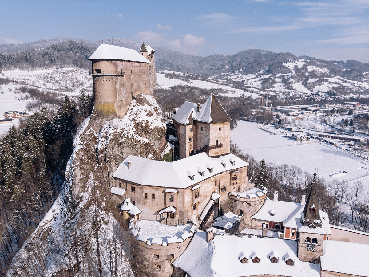 Oravský hrad. Foto: Shutterstock