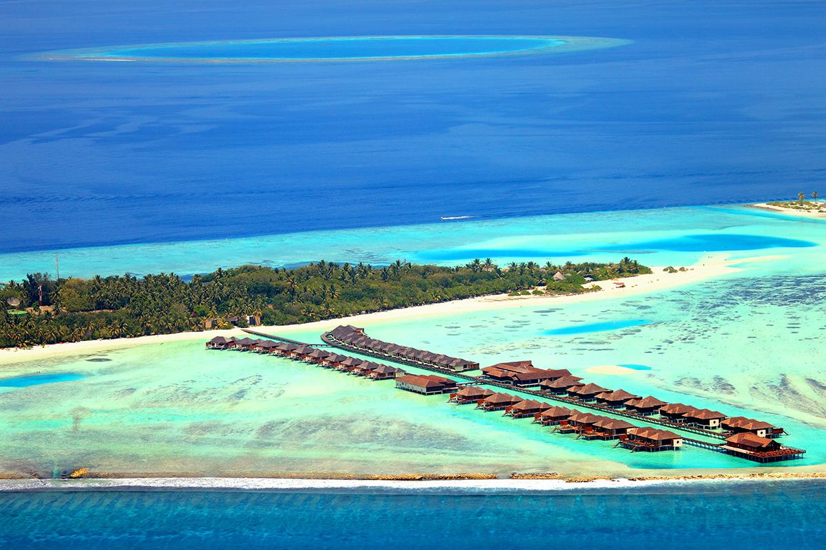 Paradise Island, Maldivy. Foto: Luboš Fellner