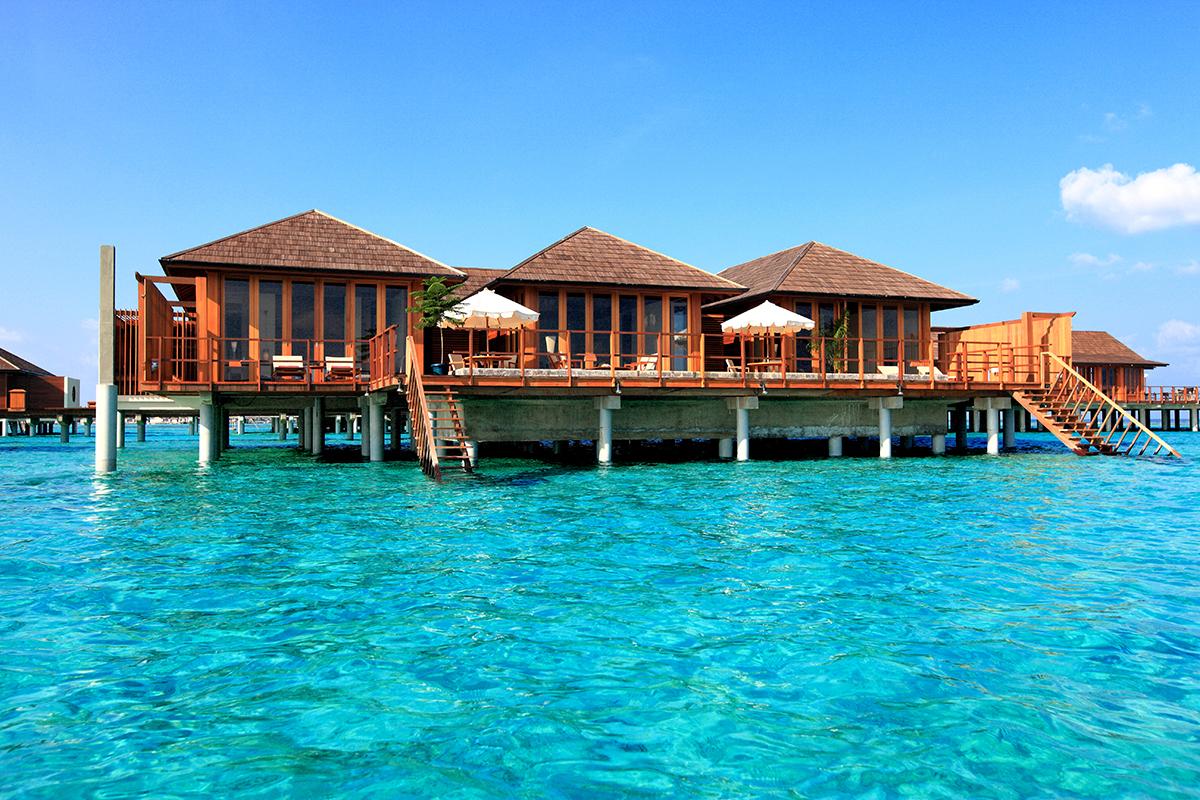 Paradise Island, Maldivy.