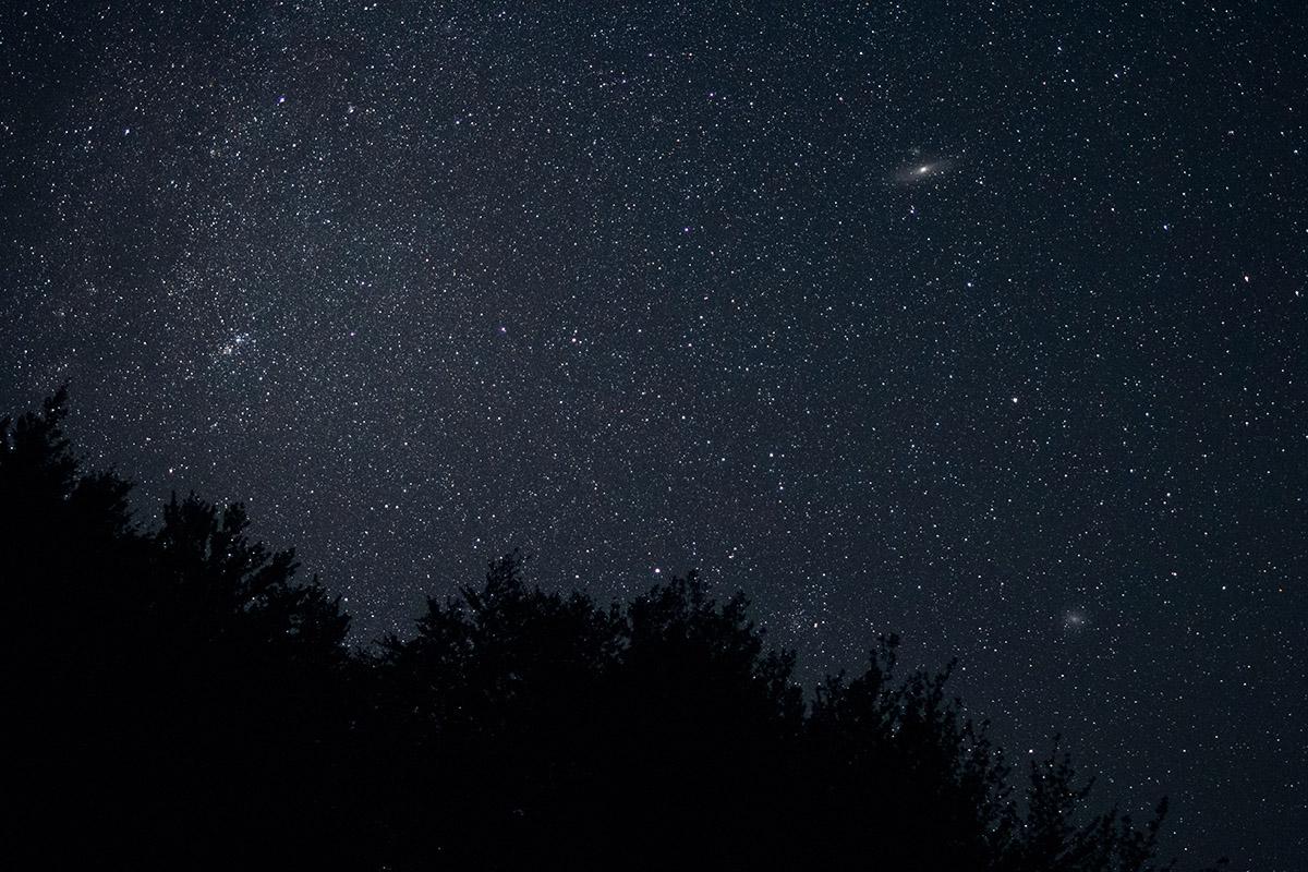 Nočná obloha v Poloninách. Foto: Shutterstock