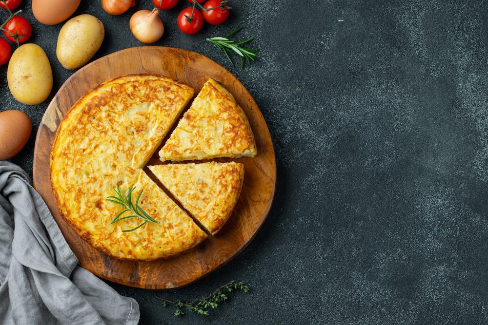 Tortilla de patatas. Foto: Shutterstock