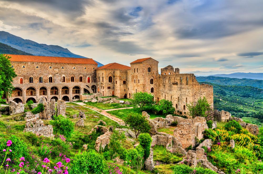 Despotov palác v Mystras. Foto: Shutterstock