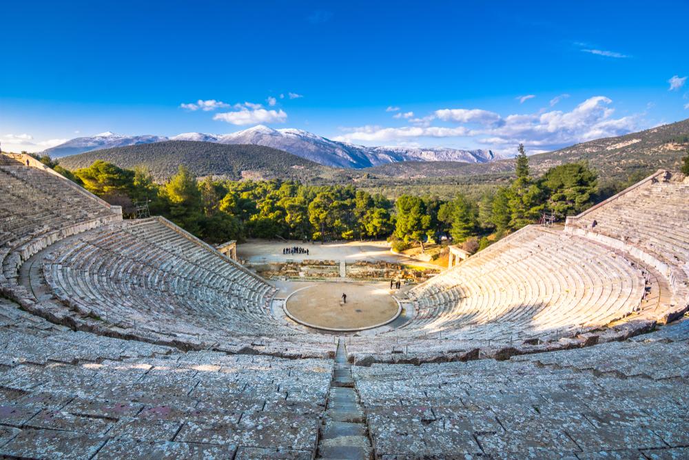 Divadlo Epidaurus. Foto: Shutterstock