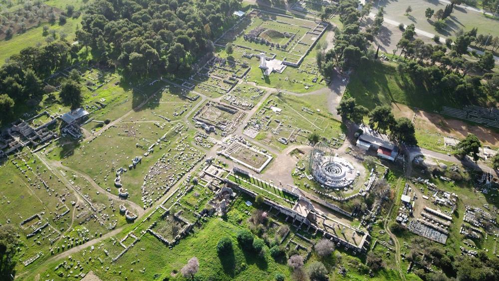 Staroveké vykopávky pri meste Epidauros. Foto: Shutterstock