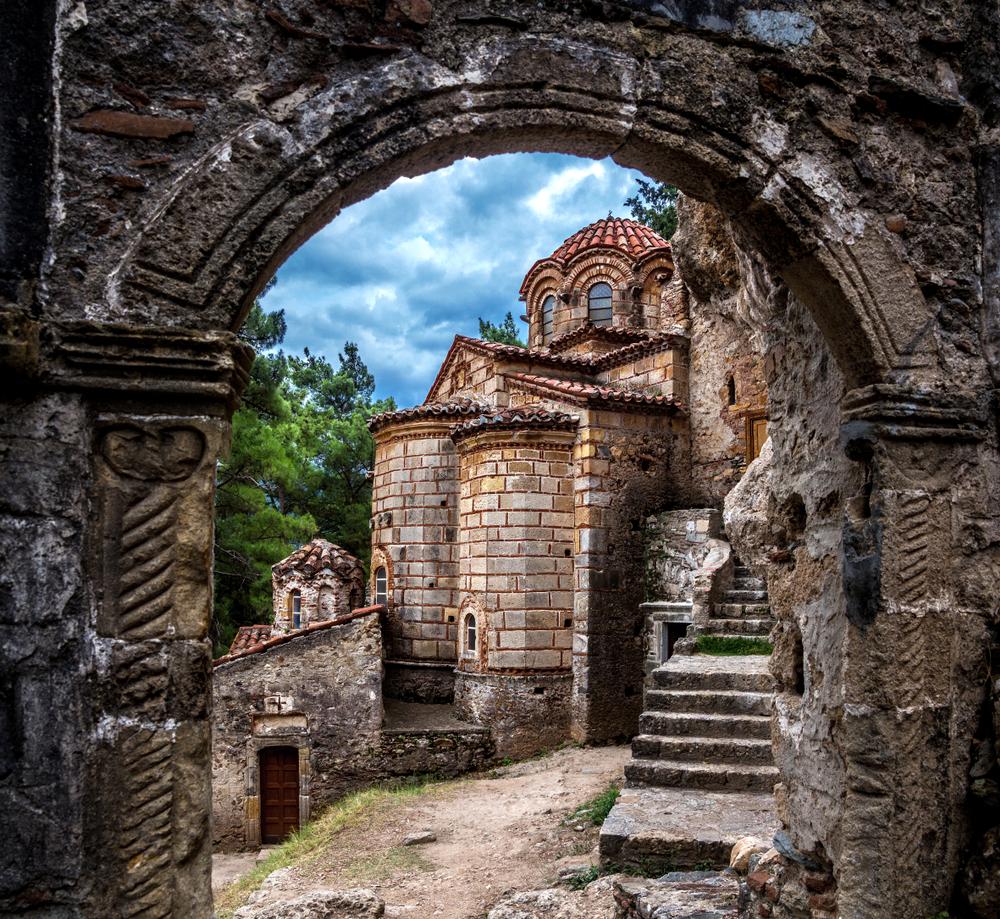 Ruiny zaniknutého mesta Mystras. Foto: Shutterstock