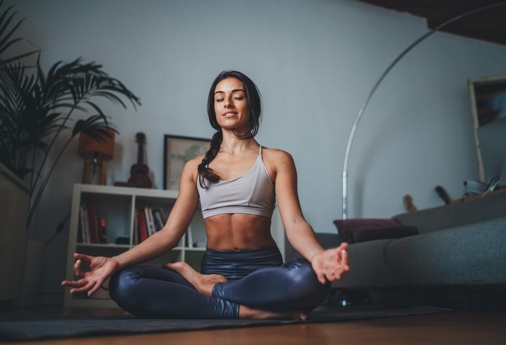 Pilates meditácia. Foto: Shutterstock