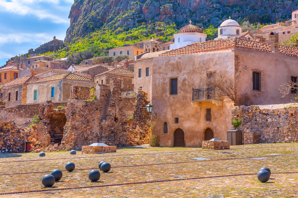 Stredoveká Monemvasia. Foto: Shutterstock