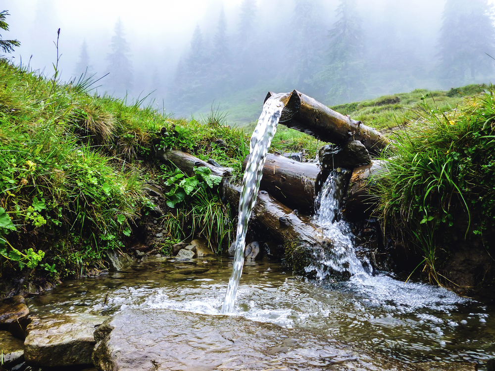 Prameň vody. Foto: Shutterstock