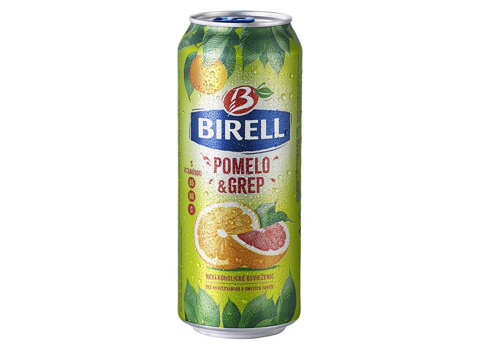 Birell pomelo-grep obsahuje veľa vitamínu C.