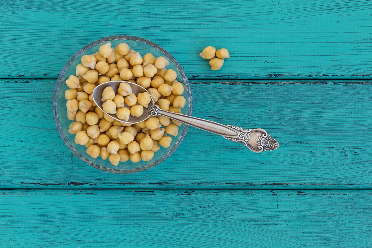 Dobrým zdrojom zinku je aj cícer. Foto: Shutterstock