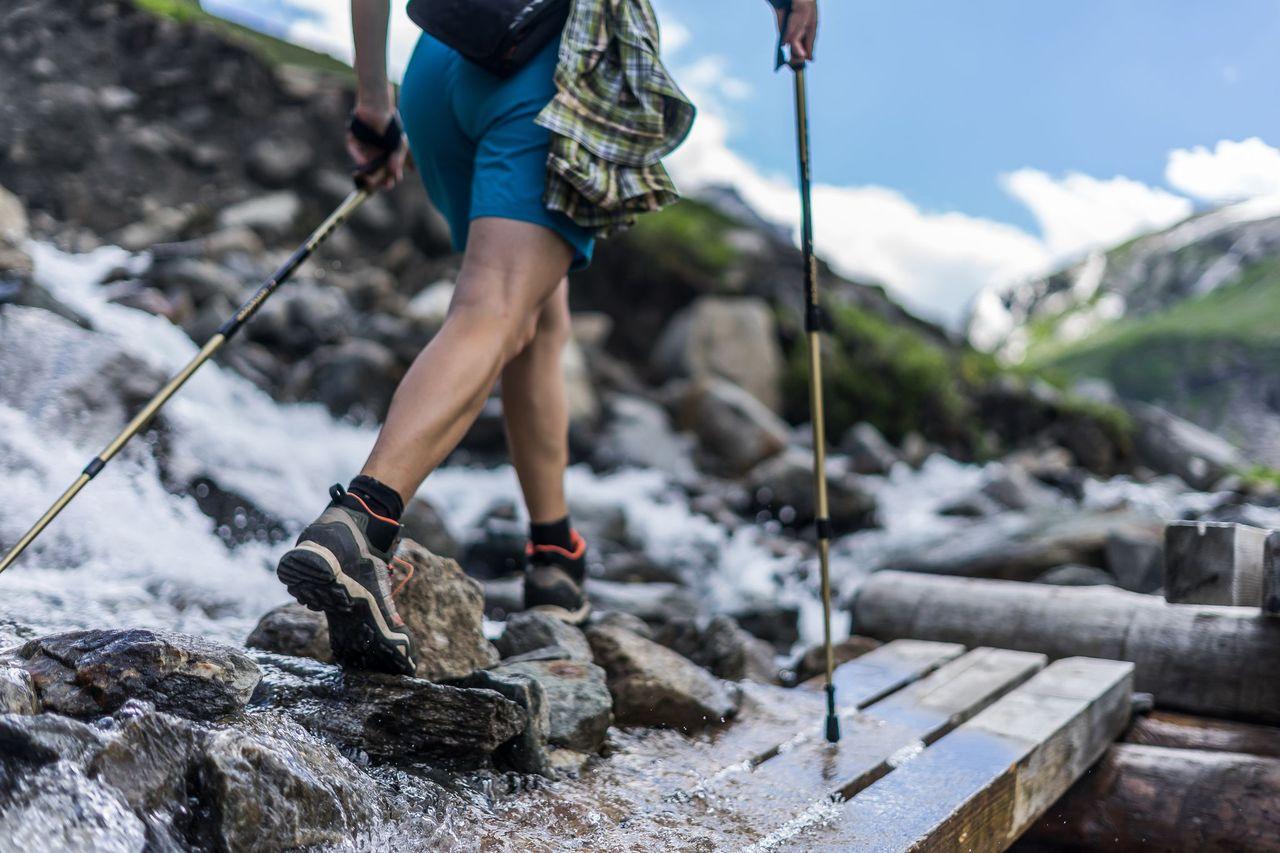 Turistické topánky vás musia podržať v rôznorodom a ťažko dostupnom teréne. Foto: Shutterstock