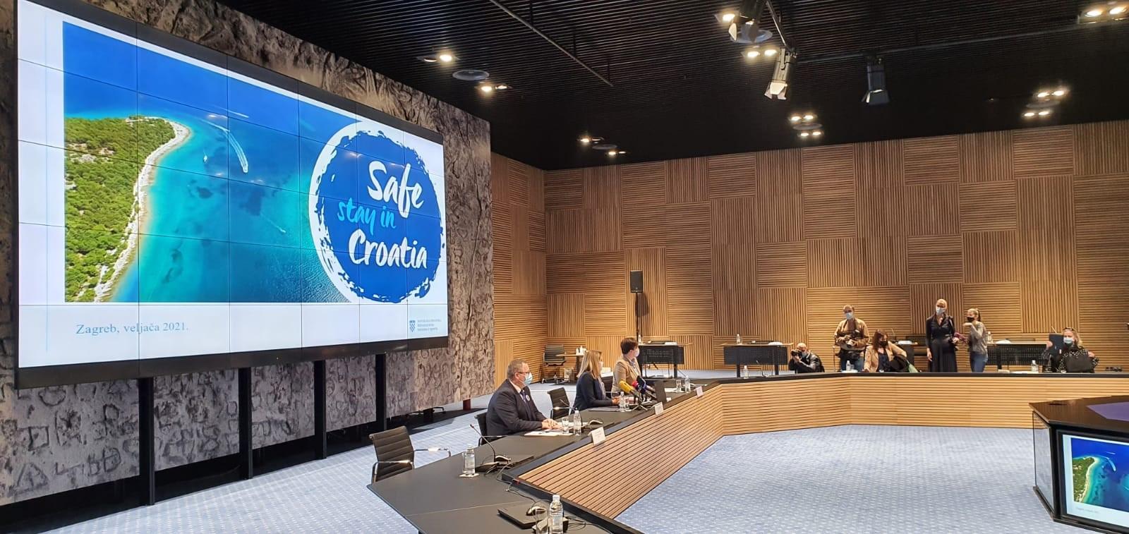 Predstavenie projektu Safe stay in Croatia