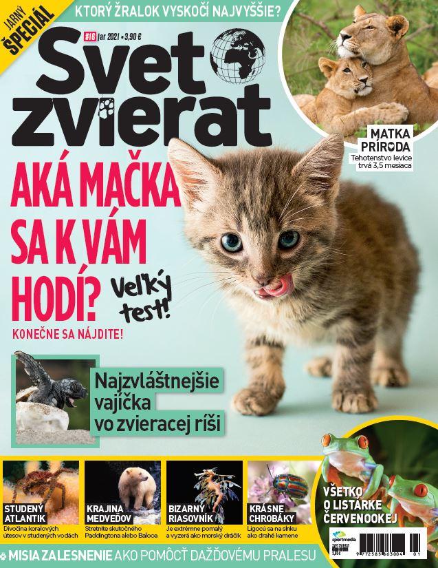 Svet zvierat 1/2021