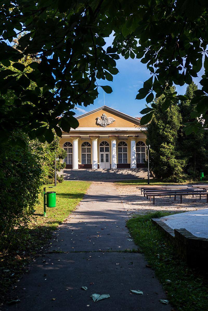 Kúpele Smrdáky. Foto: (c) Tomáš Mrawec Bilka