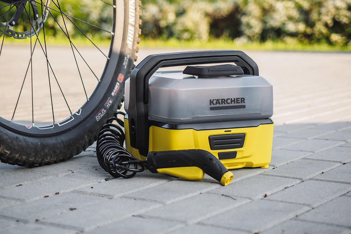 Údržba bicykla Kaercher