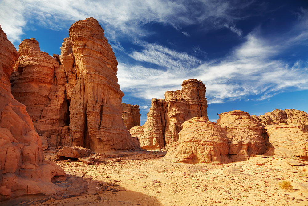 Alžírsko, Afrika. Foto: Shutterstock