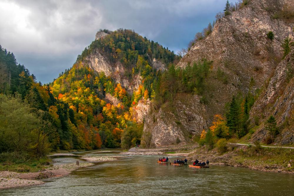 Rieka Dunajec, Pieniny. Foto: Shutterstock