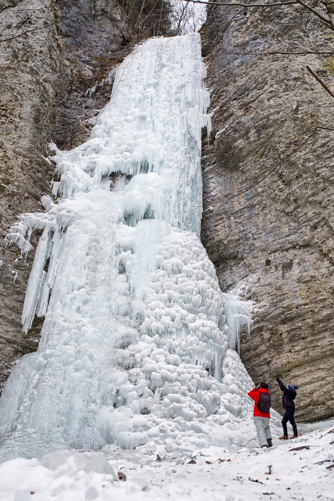 Brankovský vodopád, Nízke Tatry. Foto: Shutterstock