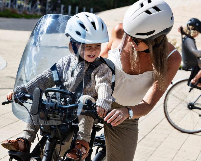 Predná detská sedačka na bicykel