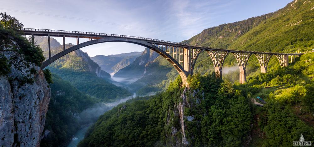 Djurdjevica, Tara, Čierna hora. Foto: Shutterstock