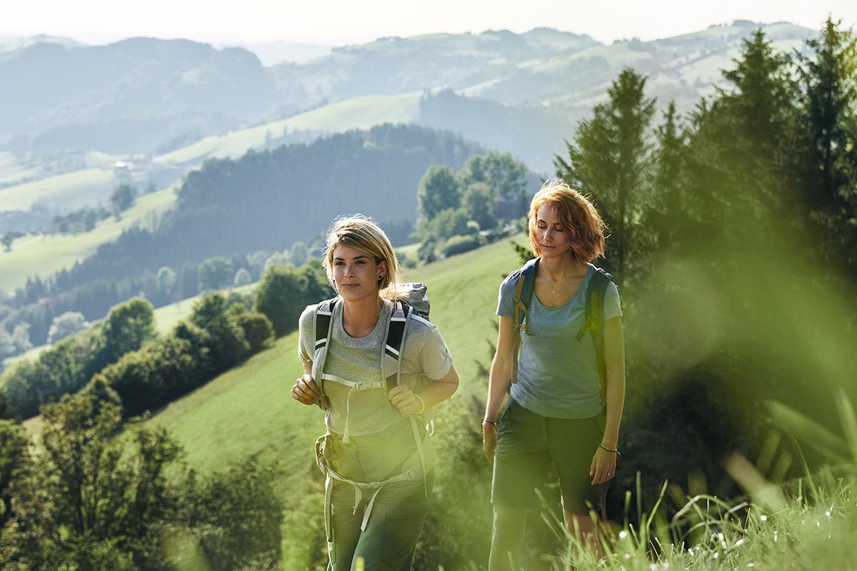 Panoramatické prechádzky pri Sebaldusweg NP Region. Foto: (c)OÖ Tourismus, Stefan Mayerhofer