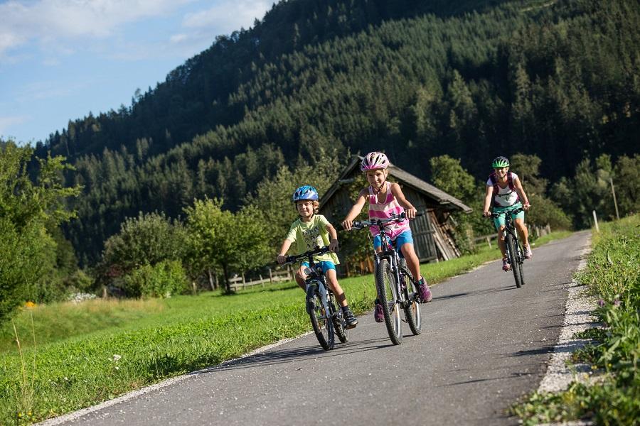 Ybbstalská cyklotrasa (c) Niederösterreich Werbung, Mostviertel / schwarz-koenig.at