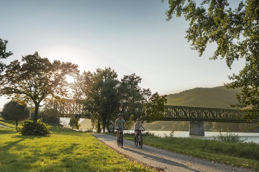 Dunajská cyklotrasa (c) Niederösterreich Werbung/ David Schreiber