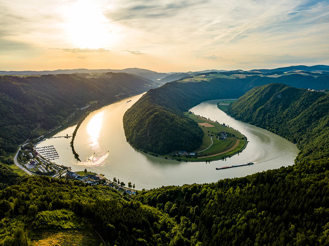 Schlögener Donauschlinge. Foto: (c) WGD Donau OÖ Tourismus, Kaindlstorfer