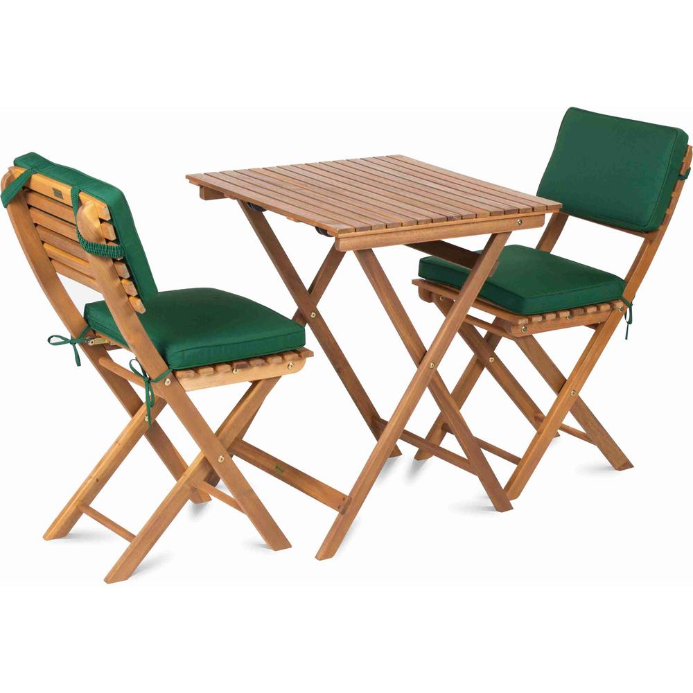 K balkónovému setu Fieldmann sa dajú dokúpiť aj vankúšové sedačky.
