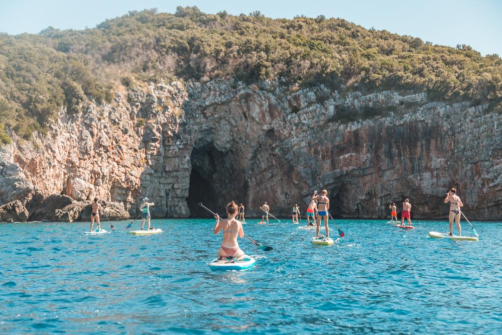 Blue cave, Čierna hora. Foto: Shutterstock