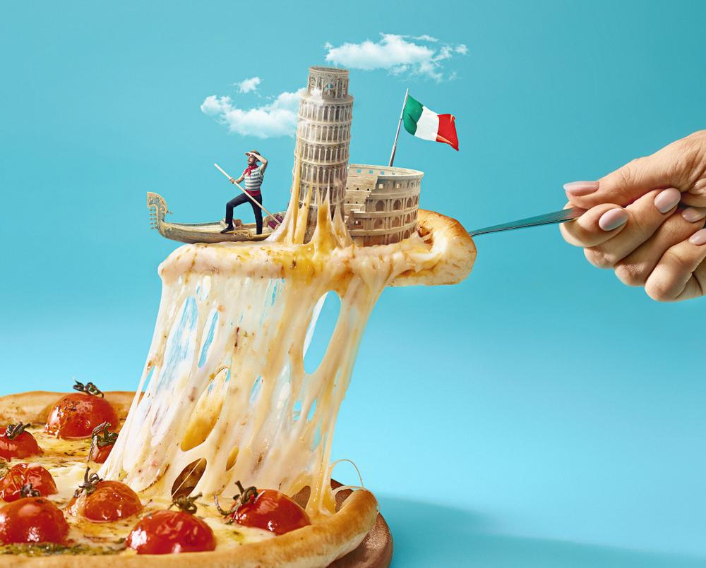 Pizza Taliansko. Foto: Shutterstock