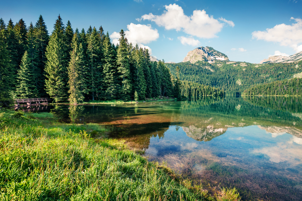 Crno jezero, Čierna hora. Foto: Shutterstock
