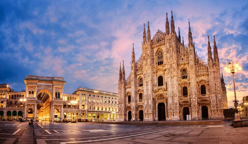 Miláno Taliansko. Foto: Shutterstock