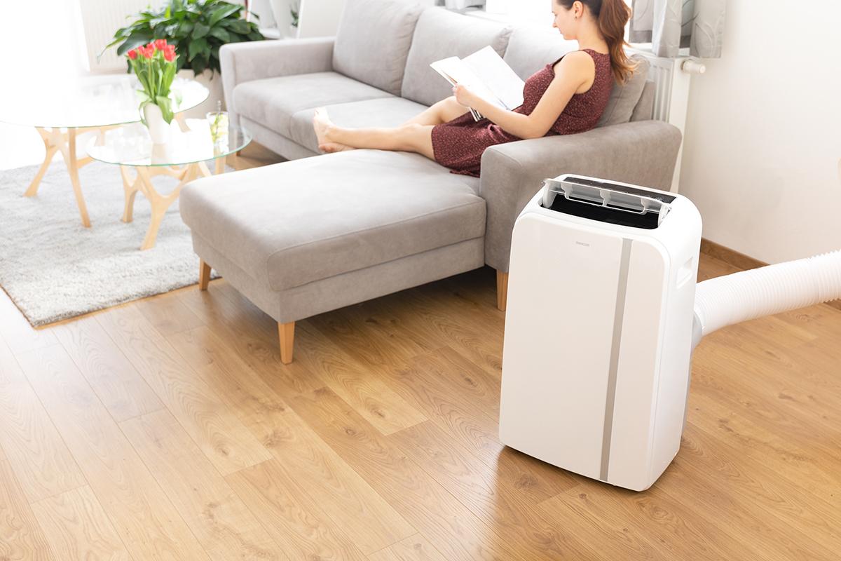 Prenosná klimatizácia SENCOR sa v lete postará o váš komfort.
