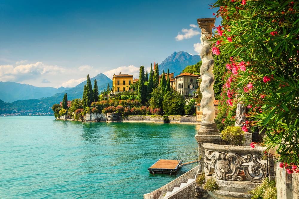 Lago di Como Taliansko. Foto: Shutterstock