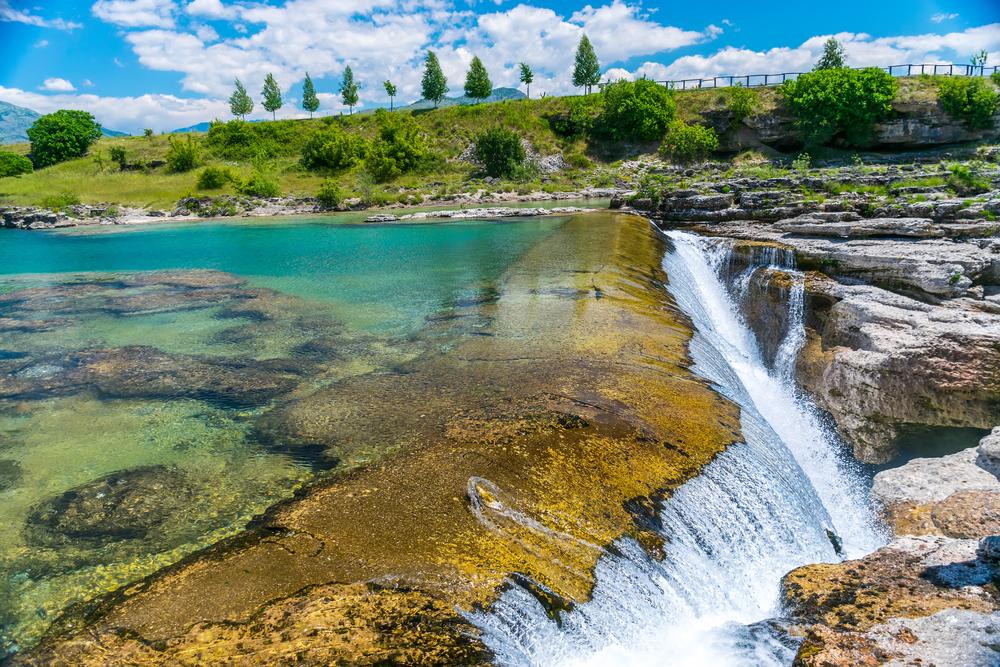 Vodopády Niagara, Čierna hora. Foto: Shutterstock